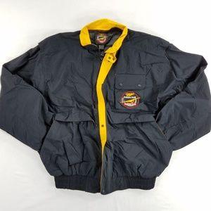 Miller Genuine Draft Mens Jacket Coat Light Weight